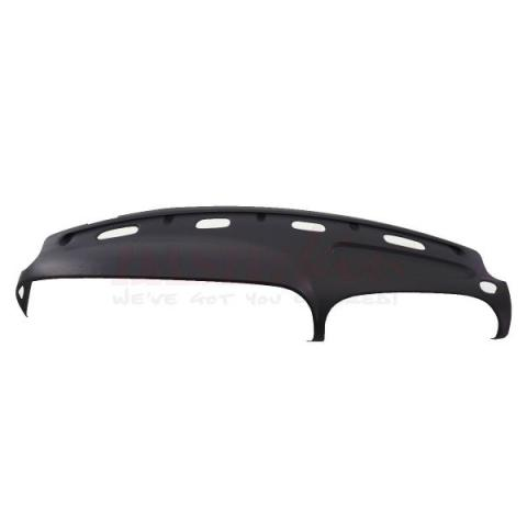 Black Dashboard Cap Dashboard Cover Overlay for Dodge Ram Truck 1500 2500 3500 02-05