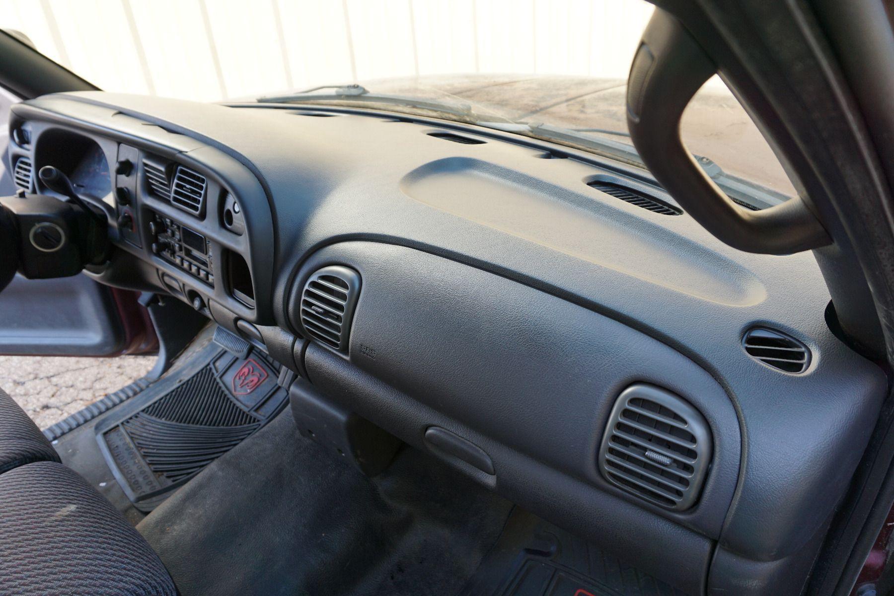1998-2001 Ram Dash After Installation